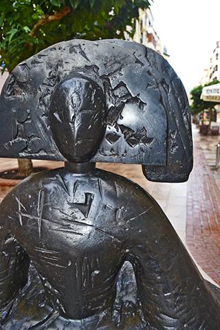 Menina Velázquez calle Ercilla centro Bilbao