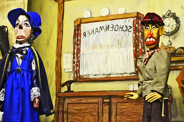 Teatro de marionetas Het Huis van Alijn Gante