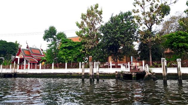Canales y viviendas klongs Bangkok