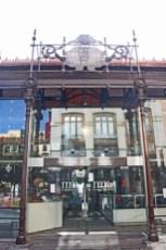 Entrada hierro forjado Mercado San Miguel Madrid
