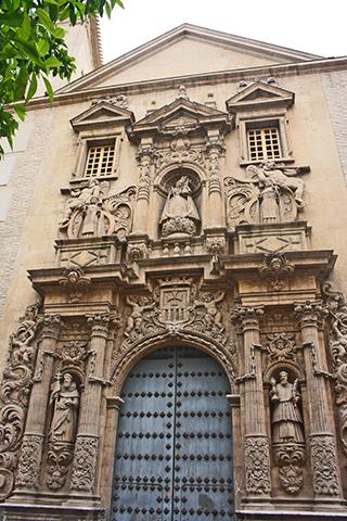 Iglesia de la Merced regentada por franciscanos