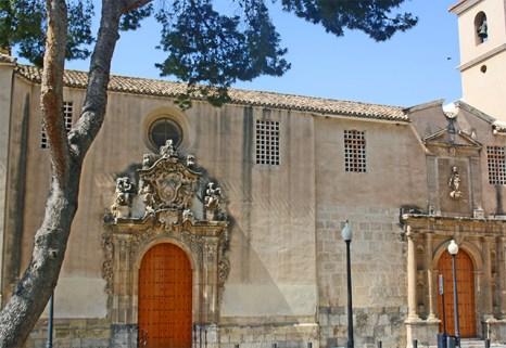 Fachada Iglesia Carmen Convento Hermanas Carmelitas Orihuela