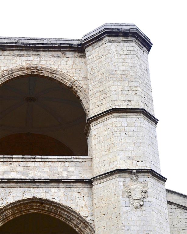 Torres piedra Convento Iglesia de San Benito Valladolid