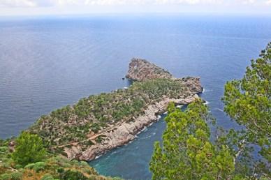Sa Calobra costa Banyalbufar Mediterráneo Mallorca