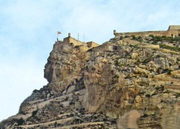 Cara del moro Castillo Santa Bárbara Alicante