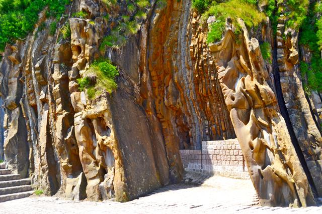 Erosión piedra Peine de los Vientos Chillida San Sebastián