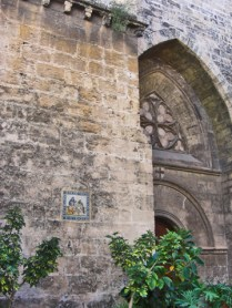 Influencia medieval al carrer Palau