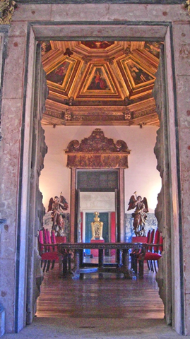 Interior sacristía Catedral Oporto