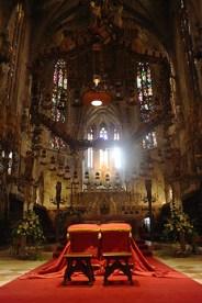 Interior gotic a la Seu Mallorquina