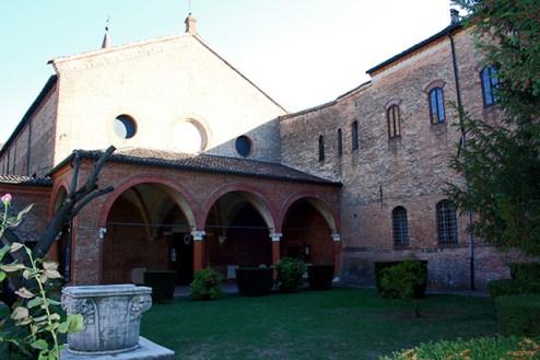 Claustro Monastero San Antonio in Polesine Ferrara