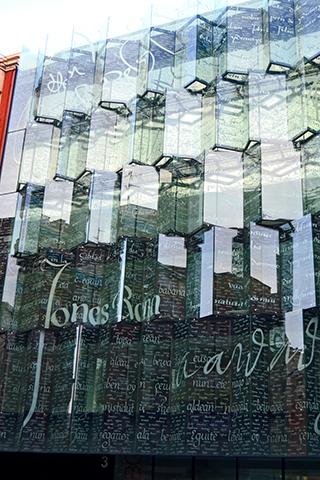 Cristalera Jones Bann centro histórico Bilbao