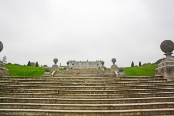 Picado escaleras estilo italiano 1847 mansión PowerscourtIrlanda