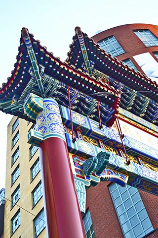 Puerta Chinatown Amberes