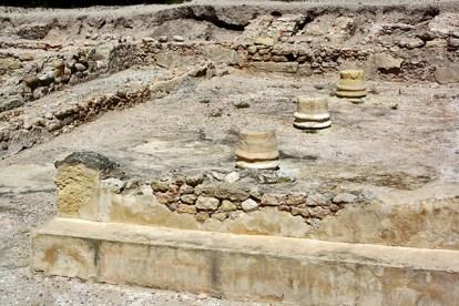 Restos arqueológicos Museo Alcudia Elche