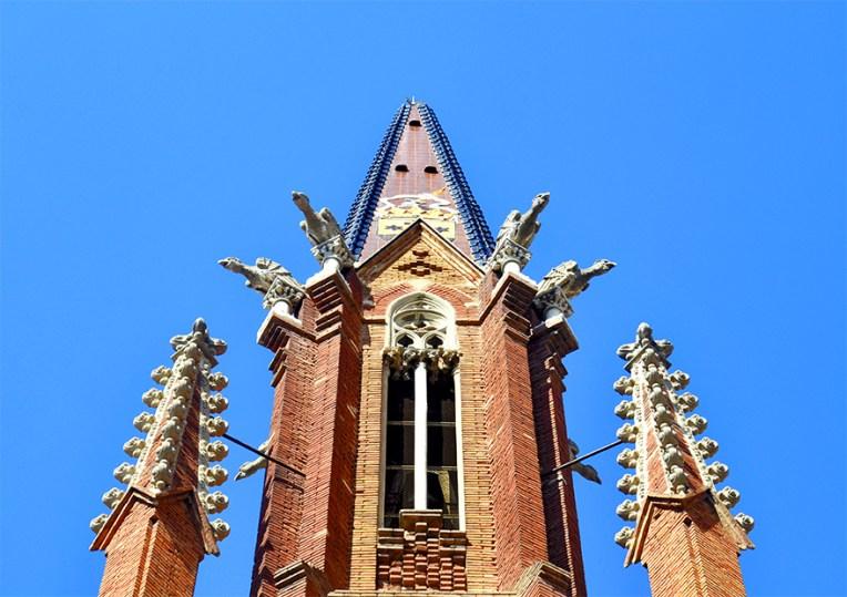 LEsglesia del Carme deixa la petjada modernista de la ciutat