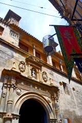Fachada Iglesia Salvador Caravaca de la Cruz Murcia