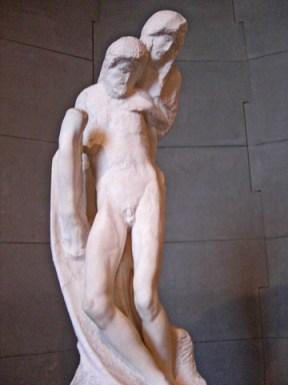 Escultura Piedad Rondanini Miguel Ángel Milán