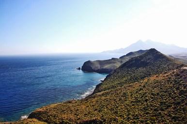 Mirador de la Amatista vistas Playa Los Muertos Cabo de Gata Almería