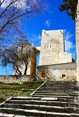Escalinatas acceso Torre Albarrana Uclés Cuenca