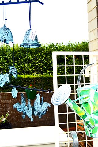 Regadera patio vivienda Villandry Francia