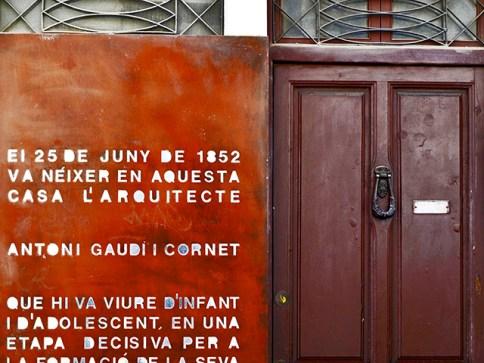 Casa natal Antoni Gaudí Reus Tarragona