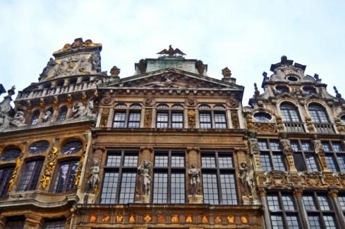 Le Cornet Le Renard y Le Roi d'Espagne Grand Place Bruselas
