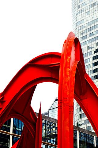 Le Grand Stabile Rouge La Défense París