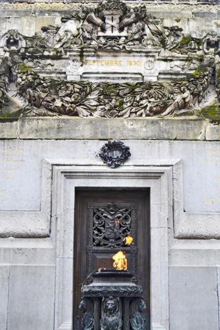 Llama Monumento Soldado desconocido Bruselas