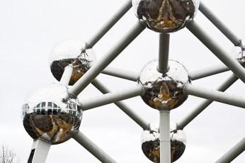 Átomos Atomium 1958 mnumento Bruselas