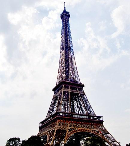 Panorámica Torre Eiffel 1889 París