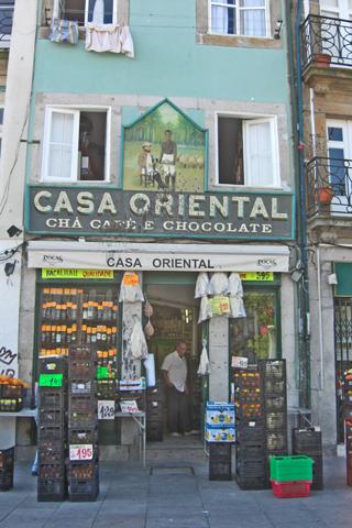 Fachada Casa Oriental Cha Café Chocolate Oporto