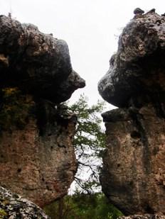 Piedras forma amantes Teruel Ciudad Encantada