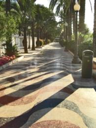 Luces sombras Explanada España Alicante