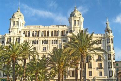 Fachada Casa Carbonell Explanada de España Alicante