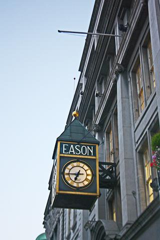 Reloj calle EASON O'Connell Street Dublín