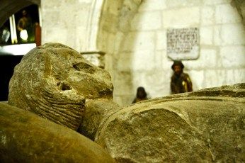 Escultura piedra religioso Museo Diocesano Catedralicio Valladolid