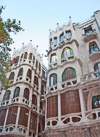 Fachada Modernismo Casa Berga Palma Mallorca
