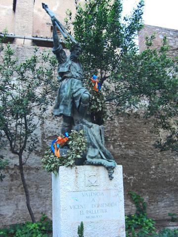Monument al palleter en Guillem de Castro