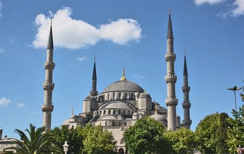 Mezquita azul Sultan Ahmet Camii Estambul