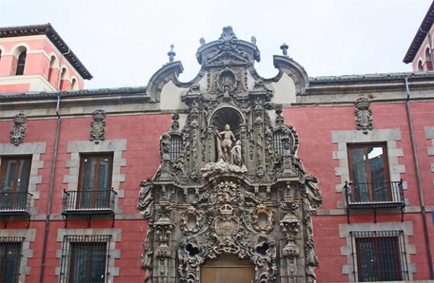 Puerta plateresca Pedro de Ribera Museo Histórico de la Ciudad Madrid