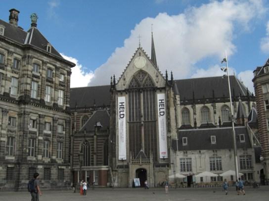 Fachada NieweKerk Plaza Damm Amsterdam