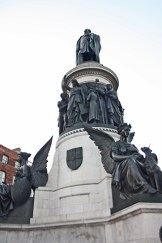 Estatua Daniel O'Connell O'Connell Street Dublín