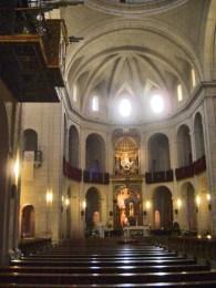 Órgano bancos interior Concatedral San Nicolás Alicante