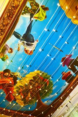 Mural techo fantasía High Street Birmingham