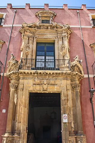 Palacio Conde de Granja en el centro historico