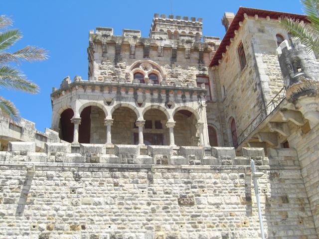 Palacio burgués piedra Estoril Portugal