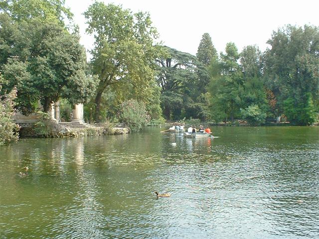 Parco della Villa Borghese
