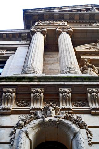 Vista picado Banco Nacional Bruselas