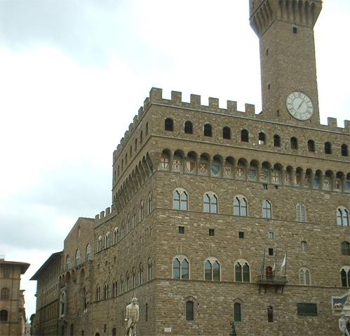 Relojo torre Piazza Signoria Florencia
