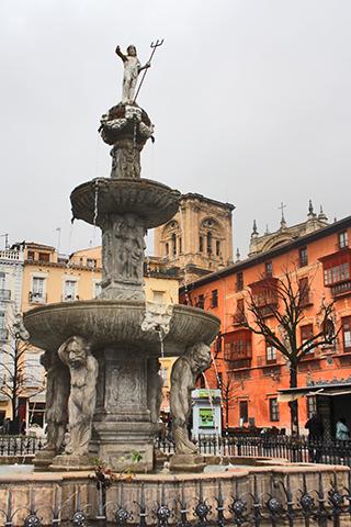 Plaza Plaza Bib-Rambla centro histórico Granada